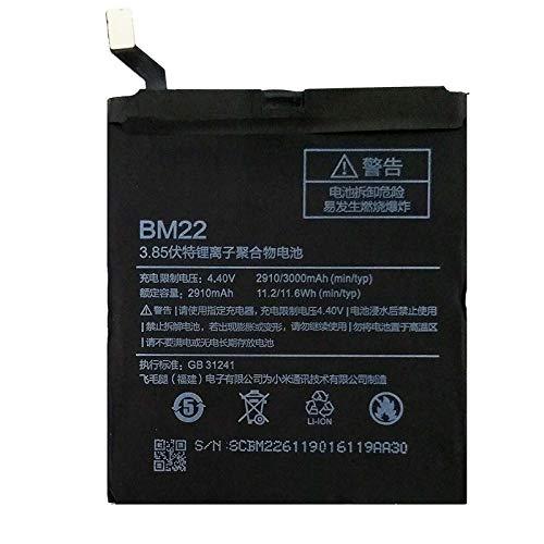 Ellenne Batería compatible con Xiaomi Mi 5 MI5 BM22 Alta capacidad 2910 mAh con kit de desmontaje incluido