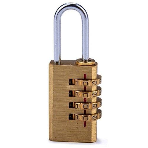 Hrph Mini 4-cijferige cijfercode codeslot combinatieslot terugstelbare reistas deur