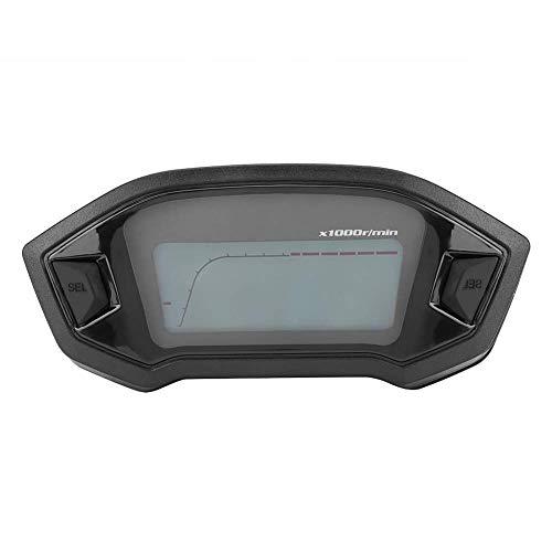 Velocímetro LCD Colorido, Odometro Moto Digital, Cuentakilómetros Universal con Sensor de Velocidad
