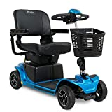 Pride Mobility Revo 2.0 Mobility Scooter – Lightweight 4 Wheel Electric Scooters for Adult