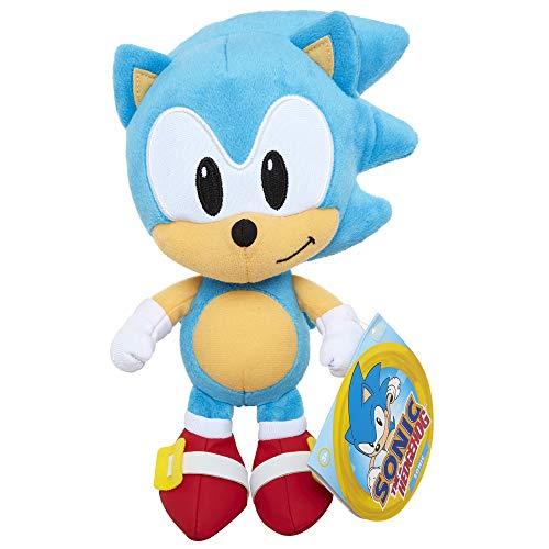 Sonic The Hedgehog - Peluche di base di Sonic, 7 cm