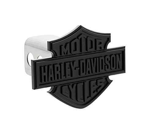 Harley-Davidson Black Bar & Shield Trailer Hitch Cover Plug