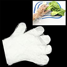 Kitchenware Gadgets Transparent Disposable Gloves One-Off Gloves for Kitchen Household Use(Transparent) Kitchenware Gadgets