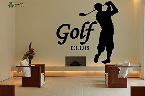 zhuzhuwen Maak je eigen muur Stickers, Verwijderbare Golf Sport,Vinyl Kleuterschool Decoratieve Waterdichte Muur