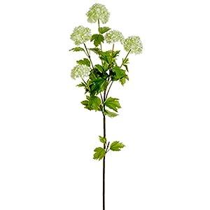 38″ Silk Snowball Flower Spray -Light Green (Pack of 12)