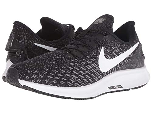 Nike Women's Zoom Pegasus 35 Flyease Running Shoe (8, Black)