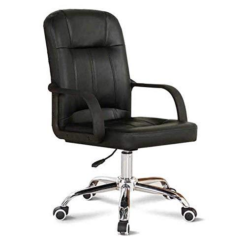 Ergonomischer Stuhl Bürostuhl Verstellbarer Rückenlehnen-Drehstuhl mit Lordosenstütze und Arm Leicht zu bewegen Starke Stabilität, um verschiedenen Büroanforderungen gerecht zu Werden
