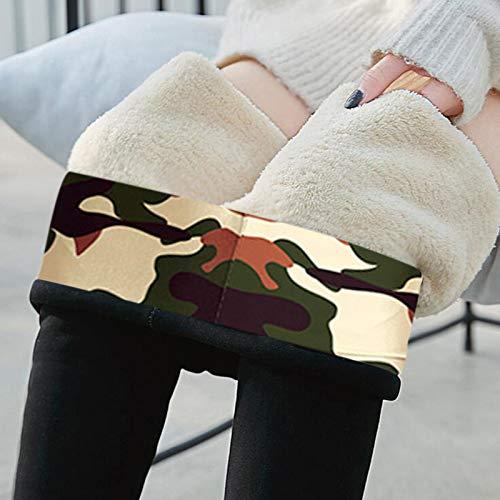Thermoleggins Für Damen Gefüttert Winter Sport Lang High Waist Fleece Thermo Hose Warme Jogginghose Gefütterte Thermohose Elastische Strumpfhosen Yogahosen Thermohose