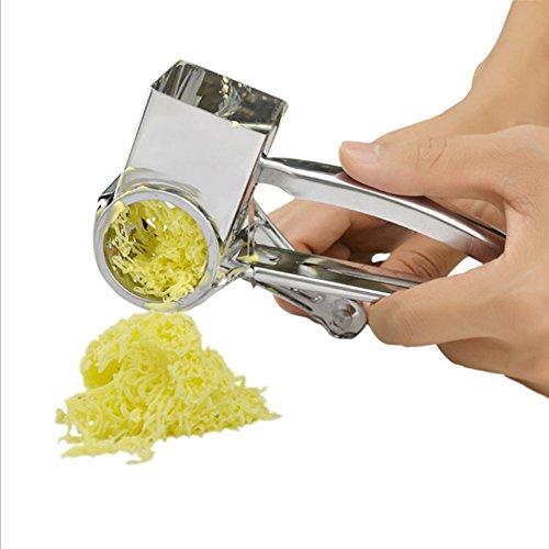 『回転式チーズおろし器』