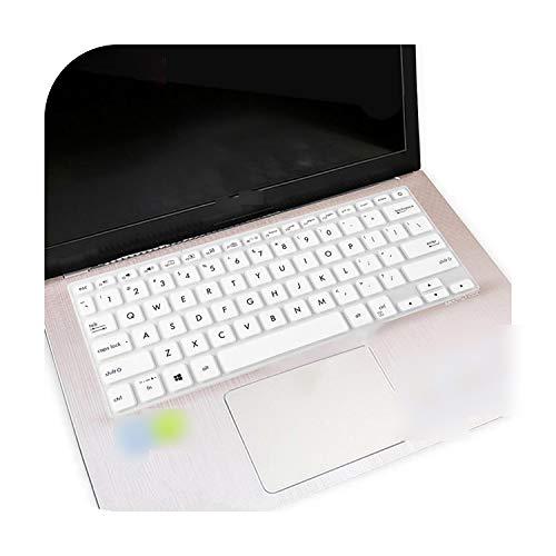 Funda protectora teclado para Asus Vivobook Flip S14 Tp412Ua Tp412 Vivo Book 14 X420 X420U X420Ua 14' Laptop Notebook Protector Cover Skin-White-