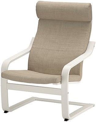 Amazon.com: Ikea Chair, birch veneer, Finnsta white ...
