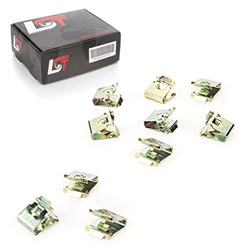 LST 10x Halteklammer A- B- C-Säulen Verkleidung für E30 E36 E34 E39 E32 E53 E86