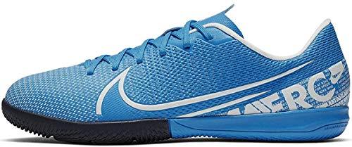 Nike Vapor 13 Academy IC, Zapatillas de Fútbol Niños, Azul (Blue Hero/White/Obsidian 414), 28.5 EU