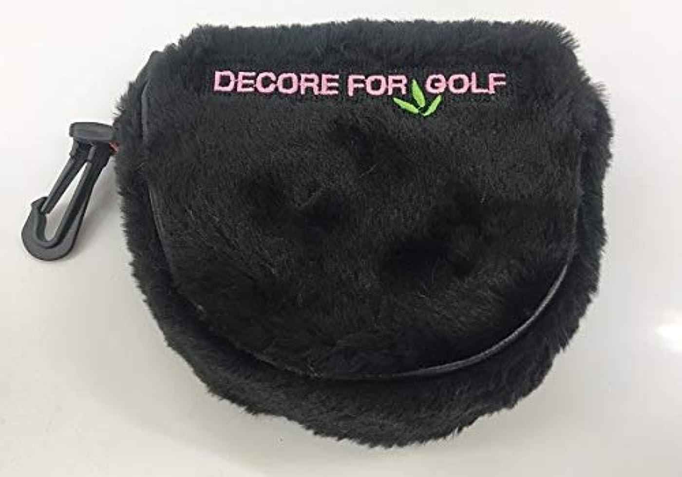 破滅的な矢じり破裂パターカバー ゴルフ ヘッドカバー マレット タイプ カラーマーカー付 DECORE FOR GOLF デコレフォーゴルフ