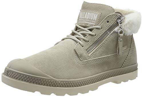 Palladium Damen Pampa LP Moscow Schlupfstiefel, Grau Feather Gray T93, 42 EU
