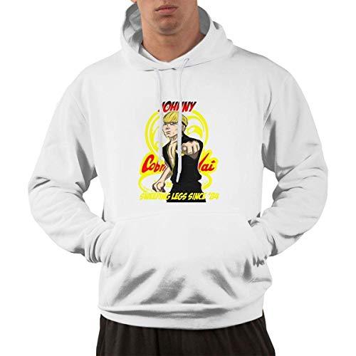 SKDJFBUD Sweatshirt Cobra Kai Johnny Men's Hoodies Sweatshirt Hoodie S
