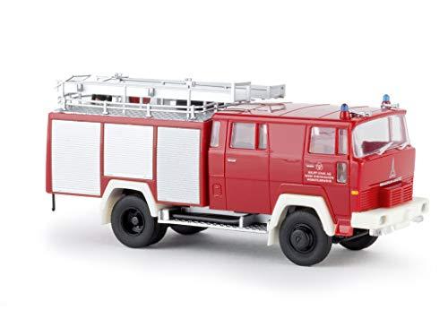 Magirus D LF 16 TS, WF Krupp Duisburg Rheinhausen, 0, Modellauto, Fertigmodell, Brekina 1:87