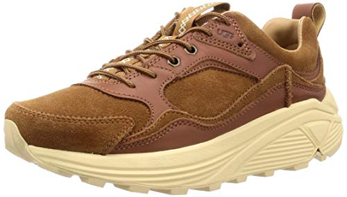 UGG Mens Miwo Trainer Low Sneaker, Chestnut, Size 10.5