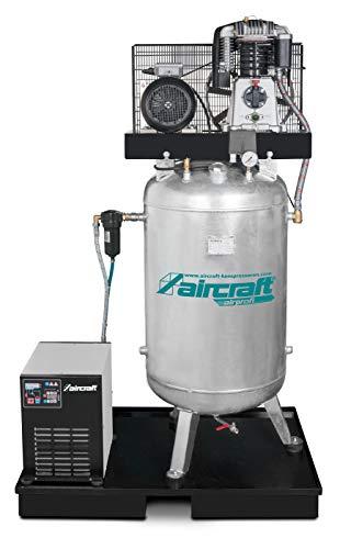 Aircraft - AIRPROFI 703/270/15 VK - Stationärer Kompressor mit 10 bar, stehendem Behälter und Kältet
