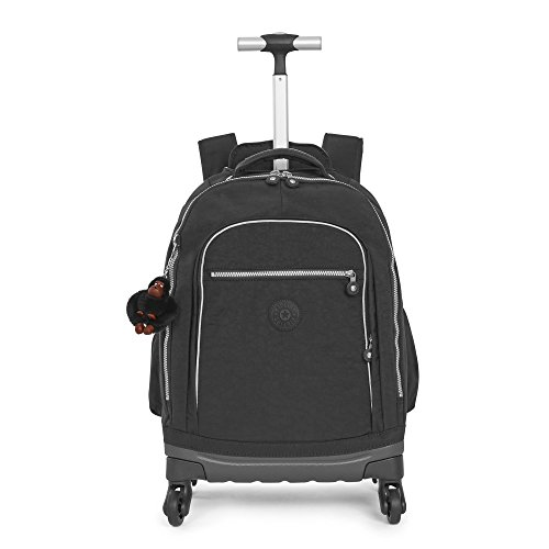 Kipling Echo Ii Rolling Backpack One Size Black