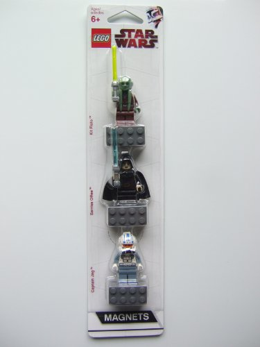 LEGO® STAR WARS 852947 3-er MAGNETSET : KIT FISTO + BARRISS OFFEE + CAPTAIN JAG - OVP