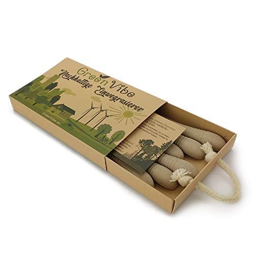 Nachhaltige Einwegrasierer, 6 Rasierer mit Abbaubaren Griffen für Damen, Recycelbare Verpackung, Umweltfreundliche Produkte