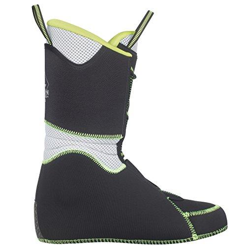 Scott ski Chausson Inner Liner PWR Lite High Evo Black/Green, Homme, noir/vert