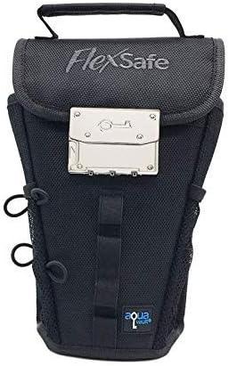 Anti Theft Portable Safe FlexSafe by AquaVault Beach Chair Lockbox Packable Travel Vault product image