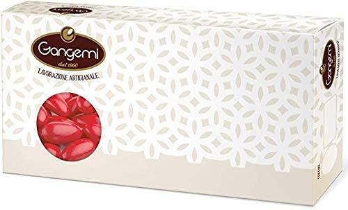 Nunziatina - Confetti Gangemi colore Rosso con Mandorla Siciliana (CLASSICHE) Alta Qualità 1000 g