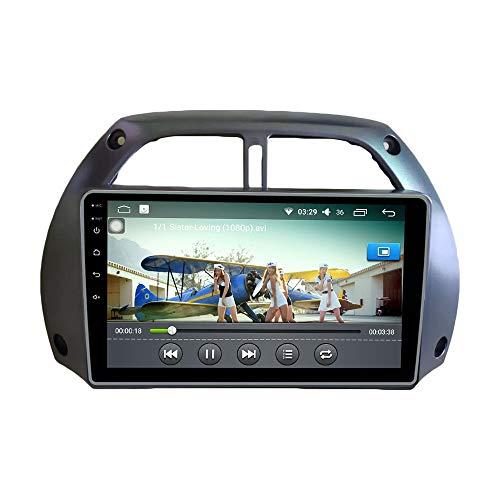 Android 10 autoradio Navigazione per auto headunit Stereo Lettore multimediale GPS Radio IPS 2.5D Touchscreen PerToyota RAV4 2001-2006