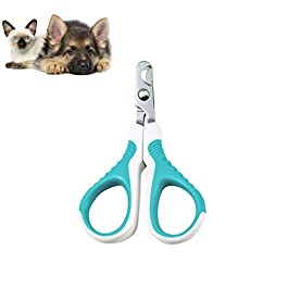 TOPAUP Cat Nail Clipper Professional Pet Nail Trimmer Grooming Tool Cat Claw Cutters Scissors for Puppy Kitten Rabbits Small Animals