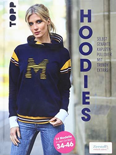 Hoodies - Selbstgenähte Kapuzenpullover mit trendy Extras: Modelle in den Größen 34-46