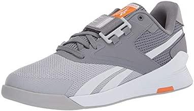 Reebok mens Lifter PR II Cross Trainer , cold grey/cold grey/high Ghvis Orange , 12.5 medium US