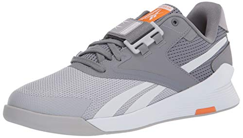 Reebok mens Lifter PR II Cross Trainer , cold grey/cold grey/high Ghvis Orange , 10.5 medium US