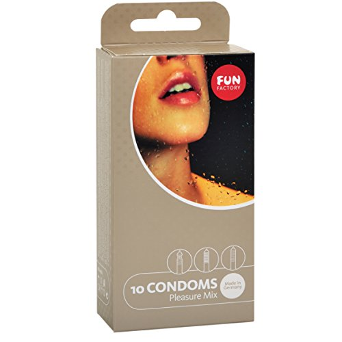 Fun Factory Kondome Mix (10 PC Pleasure Mix)