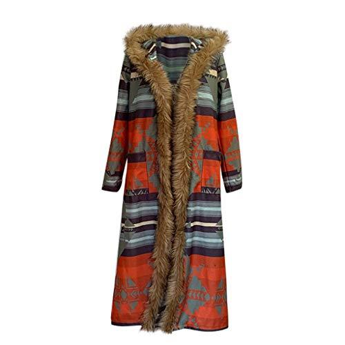 TEFIIR Damen Oversize Vorne Offen Strickjacke Langarm Grobstrickmantel Cardigan mit Taschen Sweater Mantel Baggy Cape Haarige Kleidung Lose Tops