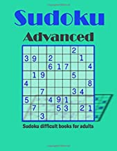 sudoku advanced - sudoku difficult books for adults: sudoku 3d 9x9 books for adults medium to hard, Hard Very Hard and Extremely Hard Sudoku - Total ... puzzles -sudoku one per page (Hard Sudoku)