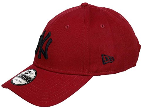 New Era New York Yankees 9forty Adjustable Cap League Essential Maroon - One-Size