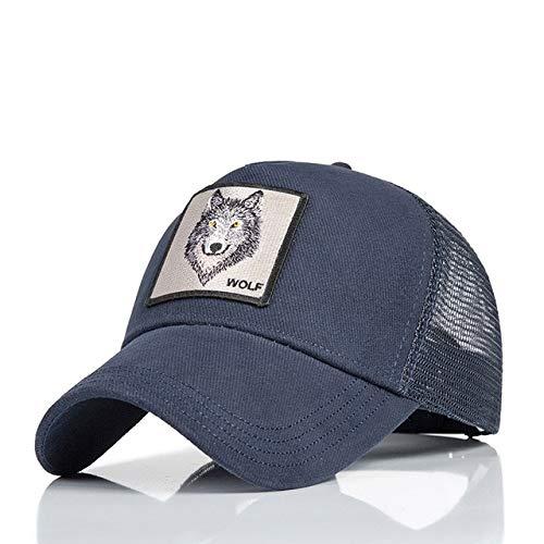 IMmps Mode Mesh Baseball Cap Unisex niedlichen Tier Hut Damen Herren Hut Papa Hut Sommer einstellbar - 47
