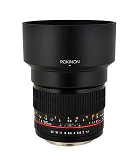 Rokinon 85MAF-N 85mm F1.4 Aspherical Lens for Nikon with Automatic Chip (Black) (B003V06YA6) | Amazon price tracker / tracking, Amazon price history charts, Amazon price watches, Amazon price drop alerts