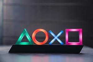 Playstation PP4140PS Tasten Symbol Lampe mit Farbwechsel Funktion, Mehrfarbig