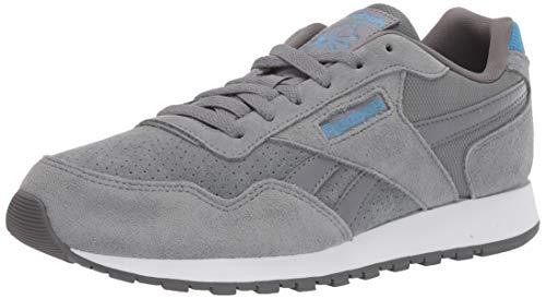 Reebok Men's Classic Harman Run Shoe, Cold Grey/Grey/Cyan/White, 10 M US