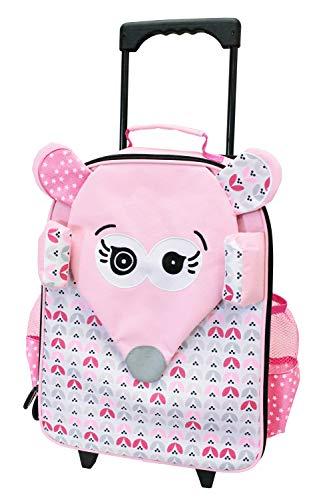 Les Deglingos Suitcase Trolley coquelicos Mouse
