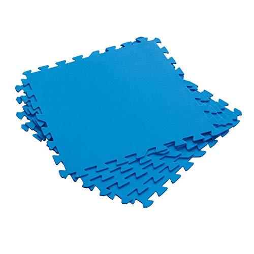 Bestway Flowclear Bodenschutzfliesen, blau