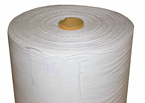 W.Motorny Baumwollgaze, Saze Stoff, Käsetücher, 100% Baumwolle, breit 90cm, Meterware (0,9 x 50 m)
