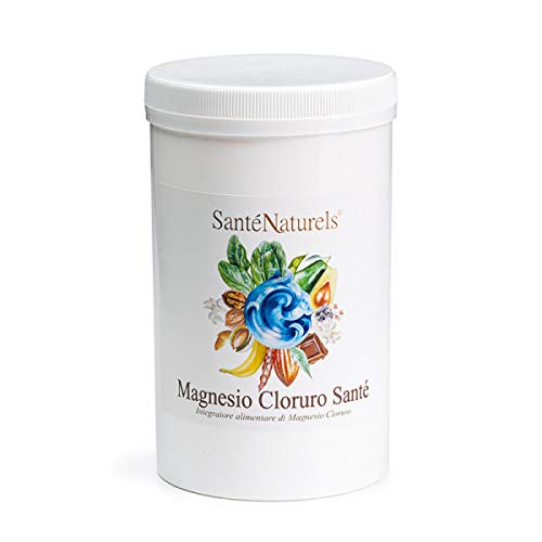 Magnesio Cloruro Santé - 1 Kg. | Solo Materia Prima Pura | Solubile in Acqua