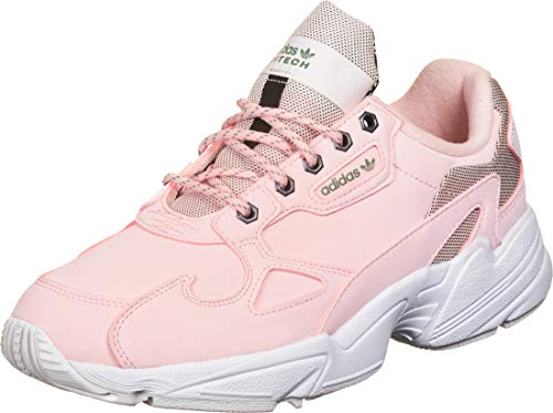 adidas Falcon W, Zapatillas de Running Mujer, Rosa Transparente, Rosa Transparente, 37 1/3 EU