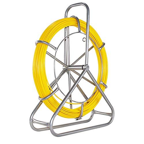 MATHOWAL Cable de Fibra de Vidrio Electraline, 6 mm x 130 m...