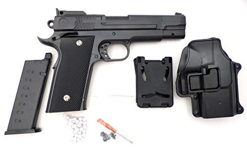 Evil Wear Softair-Waffen Set Metall-Pistole Sniper-Gun Federdruck Sports-Weapon Kugeln