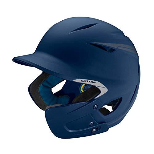 EASTON PRO X Baseball Batting Helmet with JAW GUARD | Right Handed Batter | Senior | Matte Navy | 2020 | Multi-Density Impact Absorption Foam | High Impact Resistant ABS Shell | BioDRI Liner